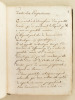 Elémens de Géométrie à Lusage des Enfans de France [ Manuscrit : Eléments de Géométrie à l'usage des Enfants de France ]. Anonyme