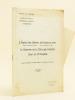 L'Hôpital des Enfants de Bordeaux (1886) Professeur Piéchaud (1893-1906) - Professeur Denucé (1906-1924) Le Domaine de la Chirurgie Infantile. Celui ...