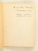 Glanes [ Livre dédicacé par l'auteur ]. SYLVAIN, Hubert