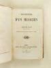 Souvenirs d'un Musicien [ Suivi de : ] Derniers Souvenirs d'un Musicien [ Edition originale ]. ADAM, Adolphe