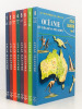 Atlas illustré - Les Encyclopédie du Livre d'Or [ 8 tomes - complet ]. Collectif ; VICTOR, Paul-Emile (préf.)