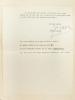 Longue lettre signée d'Edouard Jaguer datée du 2 novembre 1968. Il y évoque les relations de la médecine et de la psychiatrie au mouvement ...