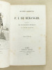 Oeuvres complètes de P. J. Béranger contenant les dix chansons nouvelles (2 Tomes) [ Avec : ] Ma Biographie. Ouvrage posthume de P. J. de Béranger, ...