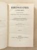 Bibliographie catholique , Tome XVI ( 16 ) , Seizième année 1856 - 1857 [ Bibliographie catholique , revue critique des ouvrages de religion, de ...