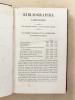 Bibliographie catholique , Tome XVIII ( 18 ) , Dix-septième année 1857 - 1858 [ Bibliographie catholique , revue critique des ouvrages de religion, de ...