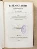Bibliographie catholique , Tome V ( 5 ) , Cinquième année 1845 - 1846 [ Bibliographie catholique , revue critique des ouvrages de religion, de ...