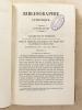 Bibliographie catholique , Tome XI ( 11 ) , Onzième année 1851 - 1852 [ Bibliographie catholique , revue critique des ouvrages de religion, de ...