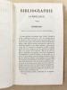 Bibliographie catholique , Tome Ier ( 1 ) , Première année 1841 - 1842 [ Bibliographie catholique , revue critique des ouvrages de religion, de ...