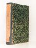 Bibliographie catholique , Tome LXII ( 62 ) , Juillet à Décembre 1880 [ Bibliographie catholique , Revue critique des ouvrages de religion, de ...