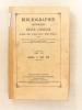 Bibliographie catholique , Tome LIII ( 53 ) , Janvier à Juin 1876 [ Bibliographie catholique , Revue critique des ouvrages de religion, de ...