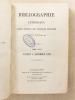 Bibliographie catholique , Tome LXXX ( 80 ) , Juillet à Décembre 1889 [ Bibliographie catholique , Revue critique des ouvrages nouveaux ]. ...