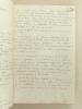 Manuscrit : Journal de voyage anonyme d'une médecin de marine militaire [ Santé navale ], d'avril 1946 à novembre 1947 : Toulon, La Rochelle, ...