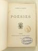 Poésies [ Edition originale ]. LEMOINE, Gabrielle