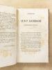 Le Père Lacordaire dans l'audace et dans l'humilité de son génie , et les doléances et les consolations d'un vieil ami.. GUILLEMIN, Alexandre ...