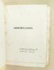 La lyre d'argent. [ Edition originale - Livre dédicacé par l'auteur ]. FLEURISSON, René