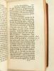 Traité de la Perfection de l'Etat Ecclésiastique, ou Considérations sur les Devoirs du Clergé (2 Tomes - Complet). Anonyme ; [ BELON, Père Nicolas ]