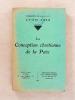 La conception chrétienne de la Paix ( Congrès de l'A. C. J. F. , Lyon 1933 ). A. C. J. F. ( Association Catholique de la Jeunesse Française )