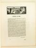 Poésie. Cahiers Mensuels Illustrés. 10e Année N° 7 - Juillet 1931 [ Dans ce Cahier : ] André Spire ; Octave Charpentier ; Auguste Huguet ; Gello ; ...