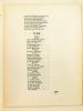 Poésie. Cahiers Mensuels Illustrés. 10e Année N° 12 - Décembre 1931 [ Dans ce Cahier : ] Mathilde Pomès - Poèmes de Mathilde Pomès ; Octave ...
