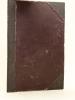Hué Muff's Revue  [ Recueil de chansons  à boire - Indochine vers 1900 ]. Collectif