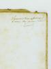 L'époque néolithique dans le bassin de la Charente et le camp du Peu-Richard [ Livre dédicacé par l'auteur ]. MAUFRAS, E.