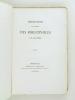 Voyage du Duc de Richelieu de Bordeaux à Bayonne 1759. Récit en vers et en prose par C. de Rulhière. Société des Bibliophiles de Guyenne. Mélanges. ...