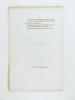 Société des Bibliophiles de Guyenne. Statuts.. Collectif ; Société des Bibliophiles de Guyenne