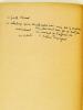 Episodes et Documents [ Livre dédicacé par l'auteur ] : Conversations avec le Cardinal Andrieu - Lettres du Cardinal Billot - Le cas du Sillon - ...