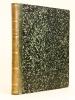 Revue de Mathématiques Spéciales. 8e Année : octobre 1897 - septembre 1898. Collectif ; HUMBERT ; PAPELIER ; CHARRUIT ; LAMAIRE ; DESSENON ; RIVIERE ; ...