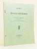 Notice sur les Travaux scientifiques de M. Léopold Escande. [  Livre dédicacé par l'auteur ]. ESCANDE, Léopold