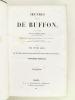 Oeuvres de Buffon, Avec les suites par M. Achille Comte. Tomes 5 et 6 [ Quadrupèdes et Oiseaux ] . BUFFON ; COMTE, Achille ; ADAM, Victor