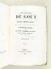 Physiologie du Goût, précédée d'une notice biographique sur l'auteur. Tome II. BRILLAT-SAVARIN