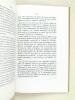 Contribution à l'étude du métabolisme basal chez le sportif [ Livre dédicacé par l'auteur ] Thèse pour le doctorat en médecine présentée et soutenue ...