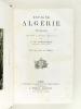 Espagne Algérie et Tunisie. Lettres à Michel Chevalier.. TCHIHATCHEF, P. de