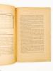 Notes inédites sur l'Egypte - Calcul de l'heure chez les anciens Egyptiens ; Elévation mécanique des eaux d'arrosage 'Le Chadouf' ; Les Poteries ...