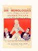 [ Lot de 6 recueils de monologues, éd. Jean Picot ] n° 7 Recueil de 15 monologues pour fiancailles, mariages, baptême ; n° 76 12 monologues ...