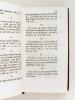 Maximes et Libertez Gallicanes, Rassemblées & mises en ordre, avec leurs preuves. Mémoire sur les Libertez de l'Eglise Gallicane, trouvé parmi les ...