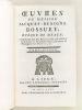 Oeuvres de Messire Jacques-Benigne Bossuet Evêque de Meaux. Tome second [ Tome 2 ]. BOSSUET, Jacques Bénigne Evêque de Meaux