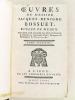 Oeuvres de Messire Jacques-Benigne Bossuet Evêque de Meaux. Tome Septième [ Tome 7 ] [ Contient notamment : ] Discours sur l'Histoire Universelle - ...