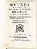 Oeuvres de Messire Jacques-Benigne Bossuet Evêque de Meaux. Tome Douzième [ Tome 12 ] [ Contient notamment : ] Traité de l'Amour de Dieu ; Extrait du ...