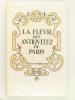 La Fleur des Antiquitez de Paris. CORROZET, Gilles