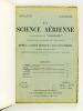 """La Science Aérienne. Nouvelle série de """"l'Aéronaute"""". Revue de la Société Française de Navigation Aérienne. [ Année 1937 Volume VI : Numéros 1, 3, 4, ..."""