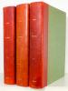 Képi Blanc. Journal Mensuel de la Légion Etrangère. La Vie de la Légion Etrangère. [ Série de 3 volumes - série suivie du n°141 de janvier 1959 au ...