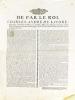 [ Ordonnance faite à Oyrières le 10 novembre 1773, concernant les communautés de Merey & de Marloz ] De par le Roi, Charles-André de Lacoré, ...