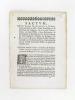 Factum pour Dames Marguerite Boüer, Veuve du Sieur la Salle, vivant Correcteur en la Chambre des Comptes ; Angélique Boüer , femme du Sieur Millet, ...