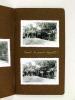 Inauguration officielle du P'tit train forestier du Cap-Ferret le 20 Juin 1954. MUSSET, A.