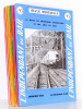 L'Indépendant du Rail ( I.D.R. ), la revue du modélisme ferroviaire et des amis du rail, Année 1972 complète ( 12 numéros ) : n° 95, 96, 97, 98, 99, ...
