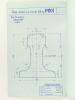 Document technique à l'échelle 1/1 : Description de divers modèles de rails : Rail DC 25 kg type P.O. - Rail P.O. 38 kg 200 symétrique - Rail P.O. 38 ...