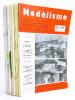 [ Revue ] Modélisme. Train. Bateau. Avion. Automobile. Architecture. Paysage. Plan. Relief. Jouet scientifique. Maquettes. Modèles réduits. [ Lot de  ...