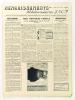 Renseignements hebdomadaires SNCF (Lot de 27 numéros suivis du n° 111 du 3 décembre 1943 au n° 137 du 21 juillet 1944) Recueil de notes officielles, ...